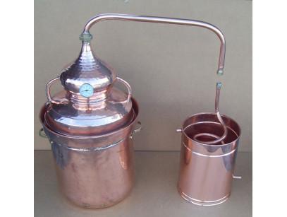 alambique 40 litros cierrre