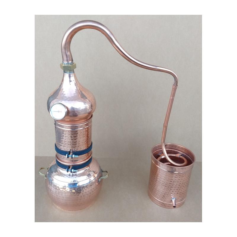 Alambic de colonne 3  litres Thermomètre  inclus