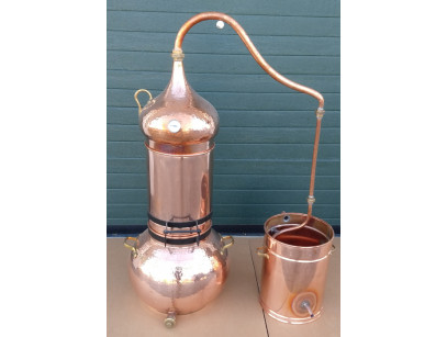 Copper Column alambic 50 litres Thermometer included