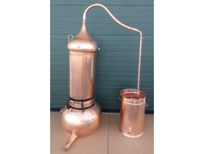 Column Copper alambic 100 litres Thermometer included