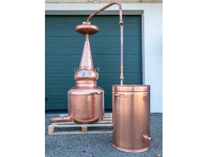 alambique 150 litres whisky