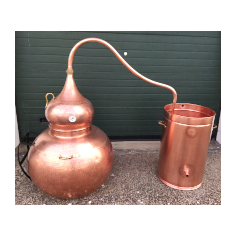 alambique 250 litros tradiccional