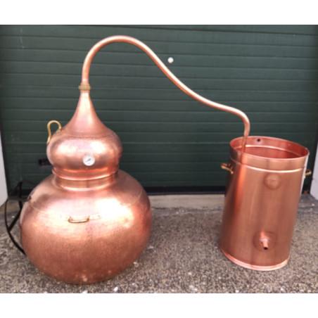 Alambic en cuivre traditionnel 250 litres