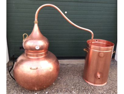 Copper Traditional Still to 250 liters
