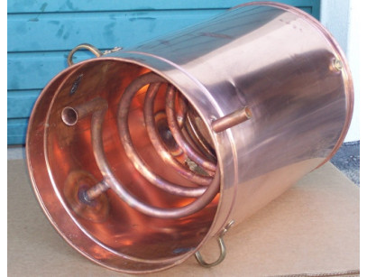 The cooling condenser  alembic traditional to  40 liters