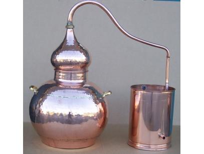Alambique de cobre 30 litros tradicional