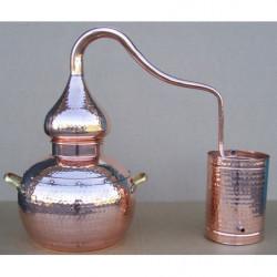 Alambique tradicional de 5 litros