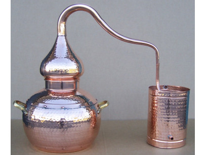 Copper Traditional Still to 5 liters