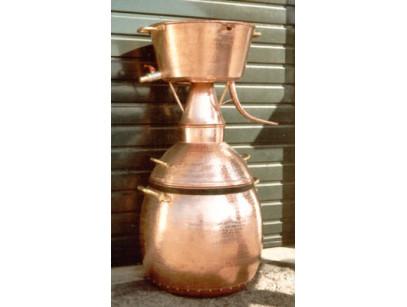 Alambicco di alquitara 150 litri